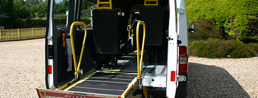 Wheelchair Access Minicoach